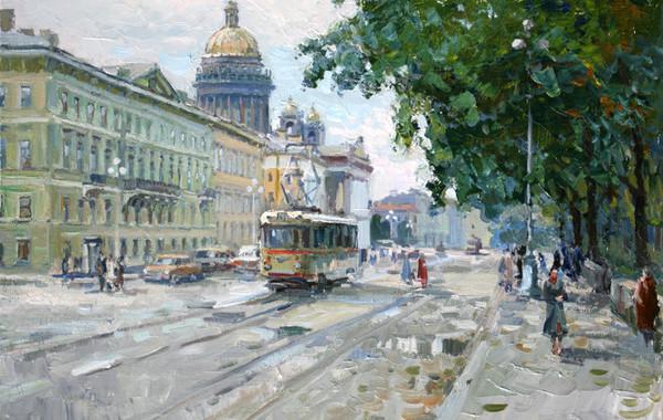 В Музее городского электрического транспорта откроется выставка «Городской пейзаж»